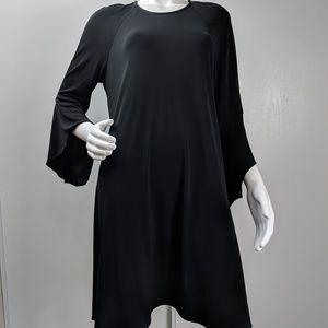 Karen Kane dress trapeze black stretch size XL